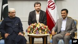 صدر زرداری ایران اور افغان صدور سے ملنے تہران پہنچ گئے