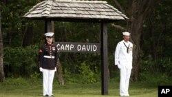 Camp David, en Maryland, lugar sede de la reunión de jefes de Estado del G-8 que arranca este viernes 19 de mayo de 2012.