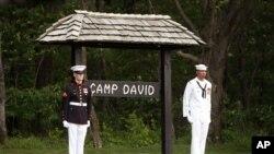 Foto de archivo de Camp David, en Maryland, lugar sede de la reunión de jefes de Estado del G-8 que arranca este viernes 198 de mayo de 2012.