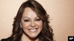 Penyanyi Jenni Rivera saat menghadiri jumpa pers di California Agustus lalu. (Foto: Dok)