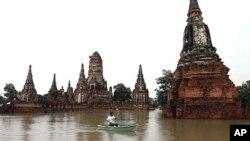 Các vụ lụt lội khủng khiếp năm 2011 ở Thái Lan đã gây thiệt hại khoảng 40 tỷ đôla.