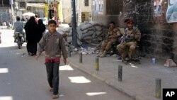 也門安全局勢緊張。