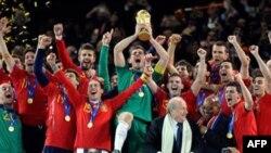 Сборная Испании – чемпион мира 2010