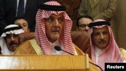 Suudi Arabistan Dışişleri Bakanı Suud el Faysal