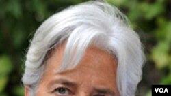 Menteri Keuangan Perancis, Christine Lagarde.