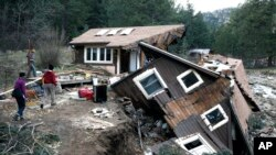 """""""Con sólo deslizar el dedo, usted puede dar el primer paso para prepararse para desastres"""", dijo la FEMA"""