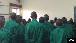 Inyeshyamba z'umutwe wa P5 mu rukiko rwa gisirikare rwo mu Rwanda