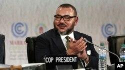 Le roi Mohammed VI du Maroc, 15 novembre 2016.