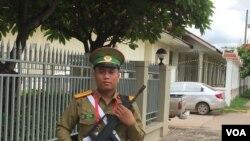 东盟峰会时的老挝万象场景