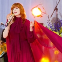 Florence Welch of Florence and the Machine performs on ABC's Good Morning America in New York last June