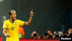 Ngôi sao đội tuyển Brazil Neymar.
