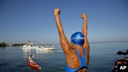 Amerikanka Dajana Najad preplivala razdaljinu od 180 kilometara od Kube do Ki Vesta na Floridi.