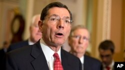El senador republicano John Barrasso no cree que una acción militar sea aprobada por la Cámara de Representantes ni por el Senado.