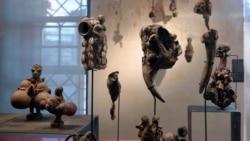 26 oeuvres d'art restituées par la France au Bénin