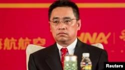 海航董事长王健生前照片