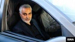 ایران میگوید فرمانده نیروهای برون مرزی سپاه به درخواست بغداد در عراق حضور دارد.