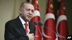 رجب طیب اردوغان د امریکا د کانګرس پریکړه له سپکاوي ډکه بولي