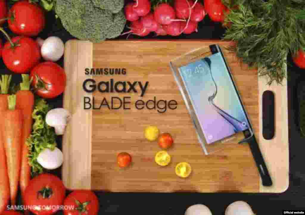 A Samsung, que vende o celular Samsung Razer, decidiu lançar um cutelo com capacidades de um smartphone, anunciando a Samsung Blade.