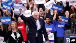 APTOPIX Election 2020 Bernie Sanders