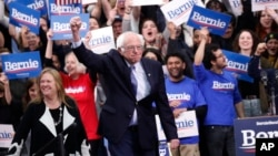 Ông Bernie Sanders đã giành thắng lợi trong cuộc bầu cử sơ bộ chọn ứng cử viên tổng thống của Đảng Dân chủ ở bang New Hampshire hôm 11/2/2020.