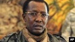 Le président tchadien Idriss Déby, président en exercice de la CEEAC (AFP)