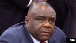 Jean-Pierre Bemba, ancien chef de guerre et ancien vice-président de la RDC, à Kinshasa le 1er août 2018.