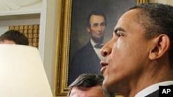 奥巴马总统5月17日在椭圆形办公室会见约旦国王阿卜杜拉