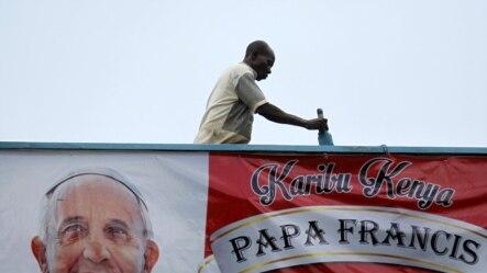 Papa Francisco aguardado no Quénia