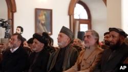 Afg'onistonning amaldagi va sobiq rahbarlari