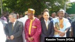 Des diplomates à Bamako lors du ramadan, Mali, le 6 juillet 2016. (VOA/Kassim Traore)