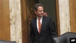 美国财长盖特纳到国会作证
