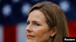 Amy Coney Barret, Washington DC, 26 September 2020. (Foto: Reuters)