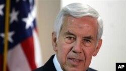 အေမရိကန္ အထက္လႊတ္ေတာ္အမတ္ Richard Lugar