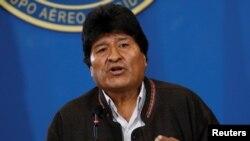 Bolivia သမၼတေဟာင္း Evo Morales