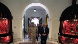 محمود عباس با رهبر نظامی مصر ديدار کرد