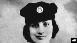 Noor Inayat Khan, an Indian woman who spied for Britain during World War Two, seen pictured in her uniform.