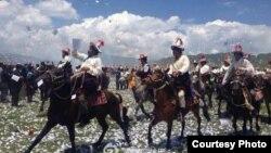 西藏人庆祝达赖喇嘛生日
