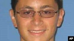 Nghi can đánh bom Texas, Mark Anthony Conditt, trong ảnh chụp thẻ sinh viên 2010-2012.
