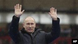 روس کے نو منتخب صدر ولادیمر پوٹن