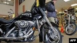 Sepeda motor Harley Davidson di Springfield, Illinois. (Foto: Dok)