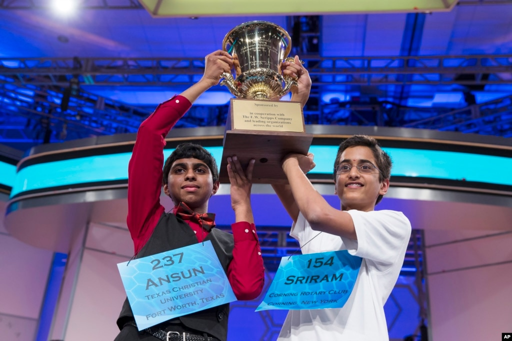 scripps spelling bee sees tie in 52 years