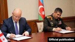 Zakir Həsənov və Levan İzoria