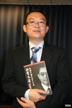 作家余杰 (美国之音记者 钟辰芳拍摄)