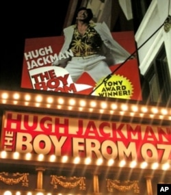 "One of Hugh Jackman's successes on Broadway was ""The Boy From Oz."""