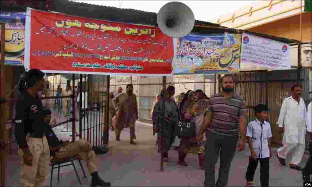 کراچی: مزار کے اطراف سکیورٹی کا خصوصی انتظام کیا گیا ہے