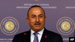 مولود چاووش اغلو وزیر خارجه ترکیه - آرشیو
