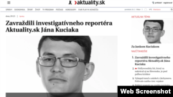 Artikel Jan Kuciiak, wartawan Slowakia yang dimuat pada situs berita Aktuality.sk