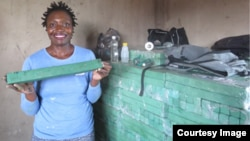 Rudo Mazhandu grew a successful soap-making business following training through Zimbabwe:Works.