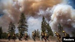 Las autoridades han determinado que el incendio cerca del parque Yosemite fue causado por un cazador descuidado.