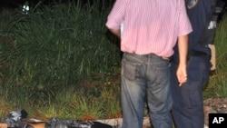 La policía hondureña descubrió el cuerpo del periodista asesinado, Alfredo Villatoro, e inicio las investigaciones.